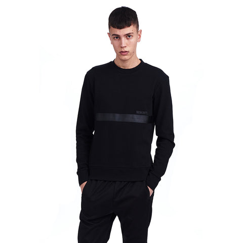 Troy Sweatshirt Black | Wood Wood - & BLANC