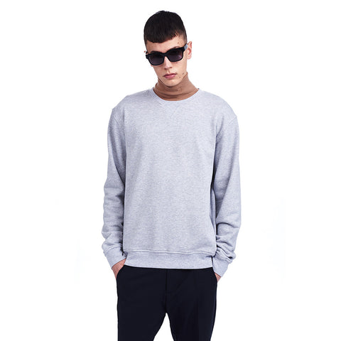 Houston Sweatshirt Grey | Wood Wood - & BLANC