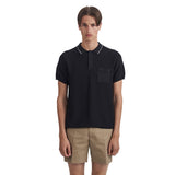 Hackett Polo Black | Wood Wood - &BLANC - 2