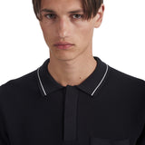 Hackett Polo Black | Wood Wood - &BLANC - 5