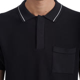 Hackett Polo Black | Wood Wood - &BLANC - 6