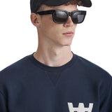 Houston Sweatshirt AA Navy | Wood Wood - &BLANC - 5