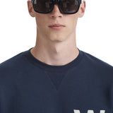 Houston Sweatshirt AA Navy | Wood Wood - &BLANC - 4