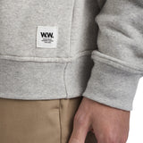 Houston Sweatshirt AA Grey Melange | Wood Wood - & BLANC