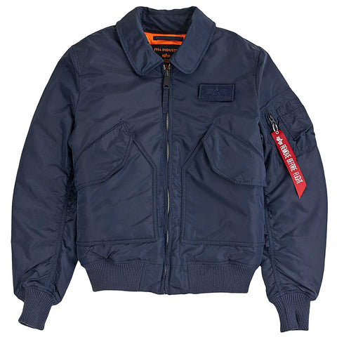 CWU VF TT Rep Blue Jacket | Alpha Industries - & BLANC