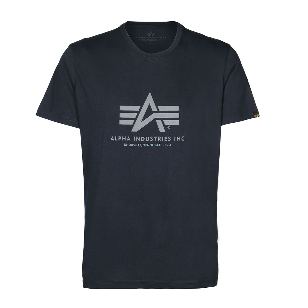 Basic Logo Tee (Rep. blue) | Alpha Industries - & BLANC