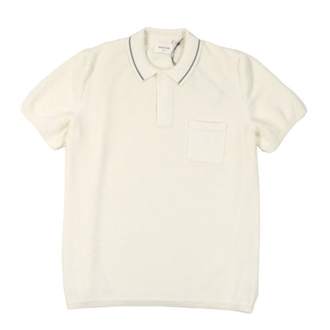 Hackett Polo White | Wood Wood - & BLANC