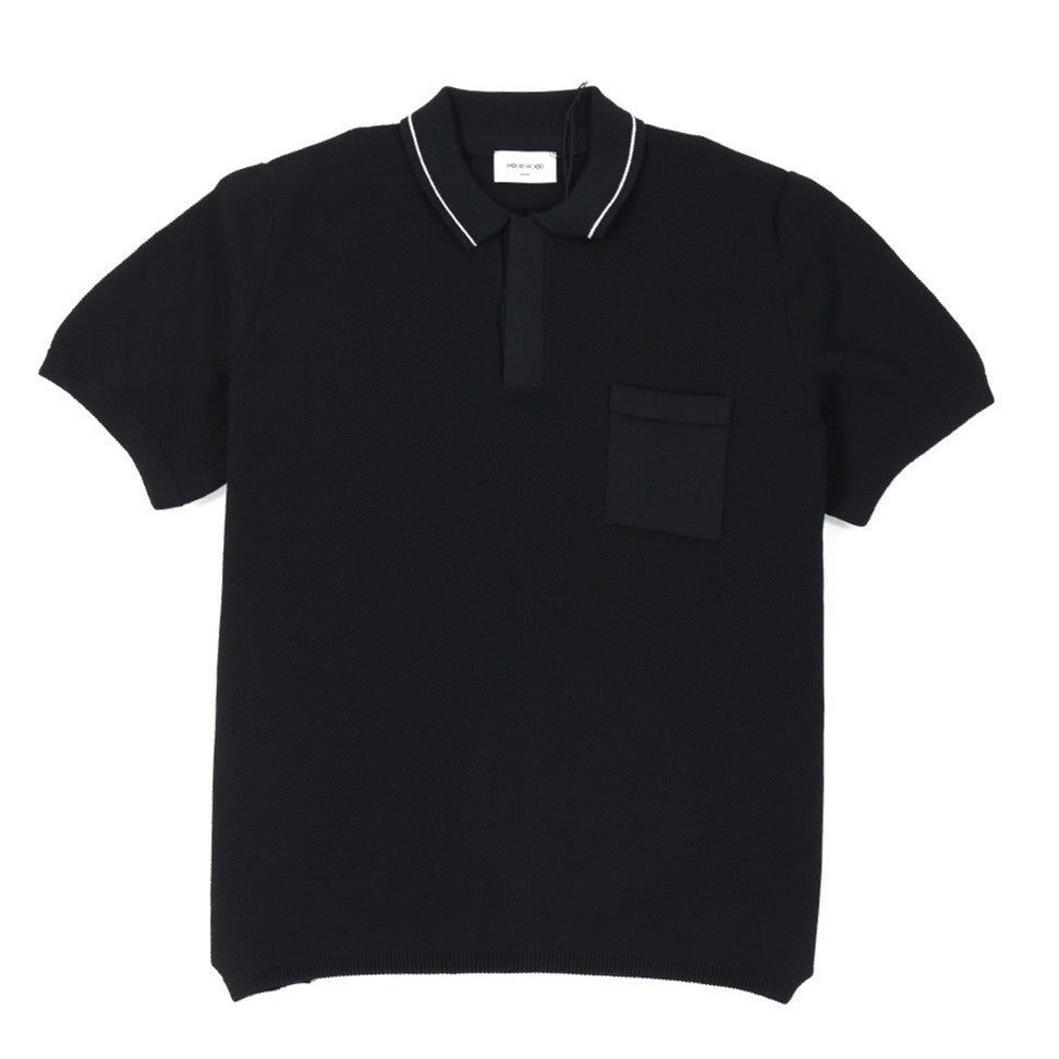 Hackett Polo Black | Wood Wood - &BLANC - 1