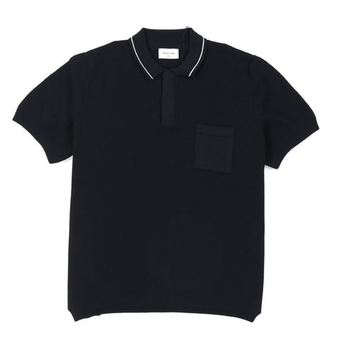 Hackett Polo Black | Wood Wood - & BLANC