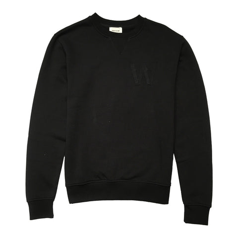 Houston Sweatshirt Black | Wood Wood - &BLANC - 1