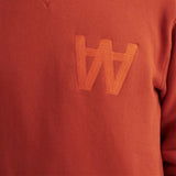 Houston AA Gold Flame Sweatshirt | Wood Wood - & BLANC