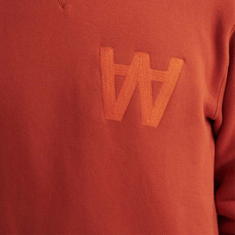 Houston AA Gold Flame Sweatshirt | Wood Wood - &BLANC - 1