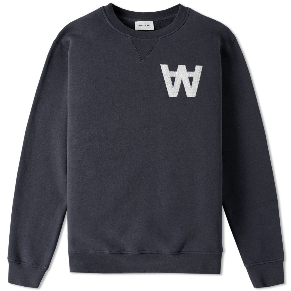Houston Sweatshirt AA Navy | Wood Wood - &BLANC - 1