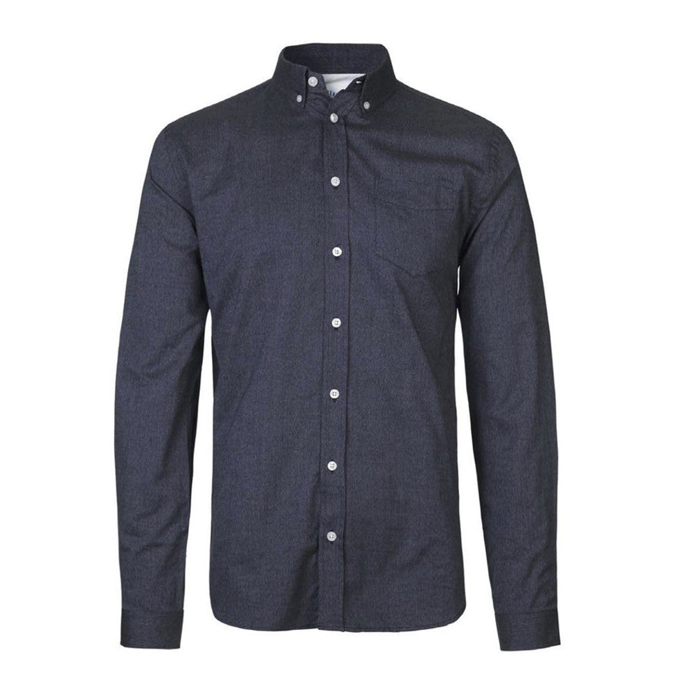 Hunter Shirt Dark Navy Melange | Libertine-Libertine - & BLANC