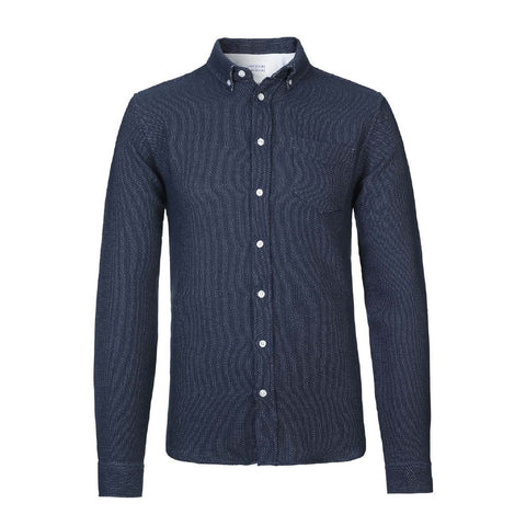Hunter Dark Navy Shirt | Libertine-Libertine - & BLANC