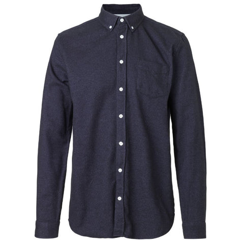 Hunter Shirt Dark Purple | Libertine-Libertine - & BLANC