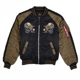 Japan Dragon Black Jacket | Alpha Industries - & BLANC