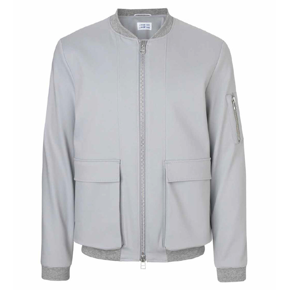 Caution Jacket (Sky Grey) | Libertine Libertine - & BLANC