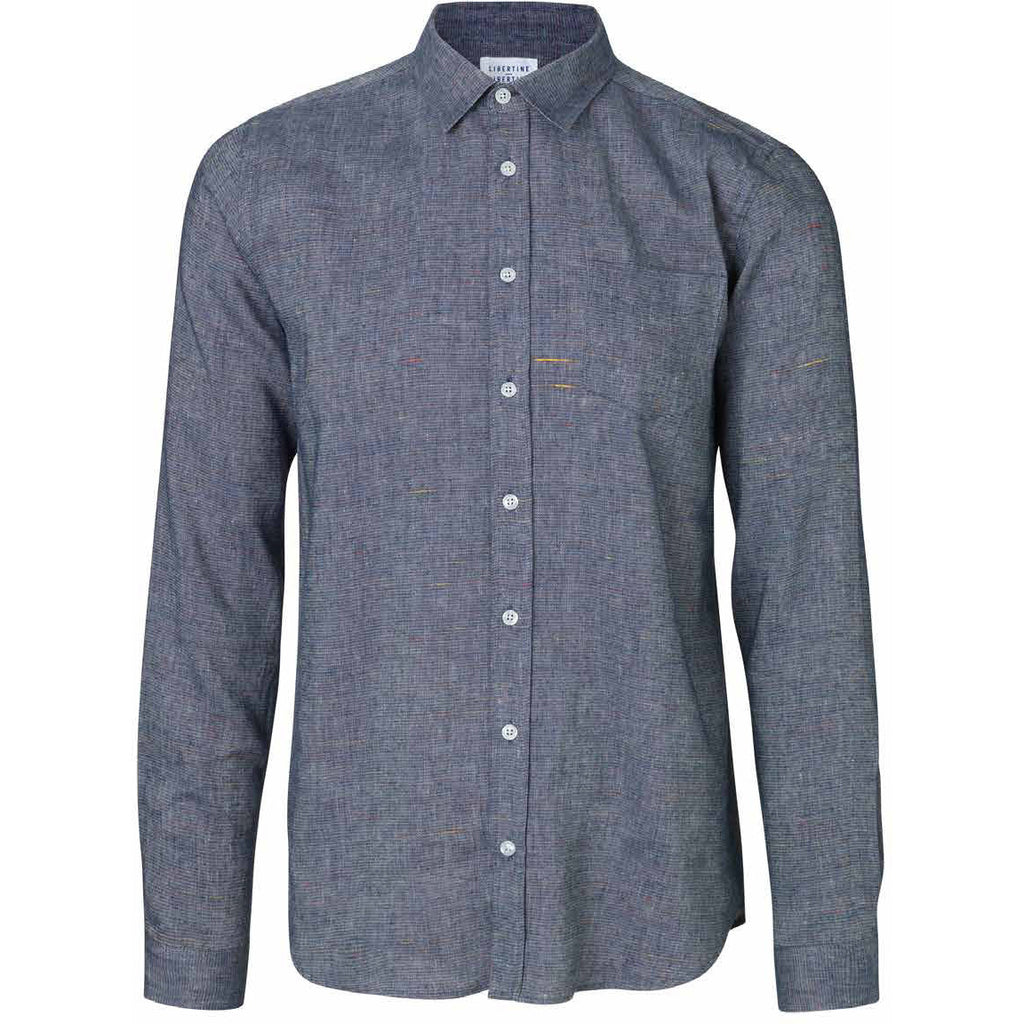 Lynch Blue Shirt | Libertine Libertine - & BLANC