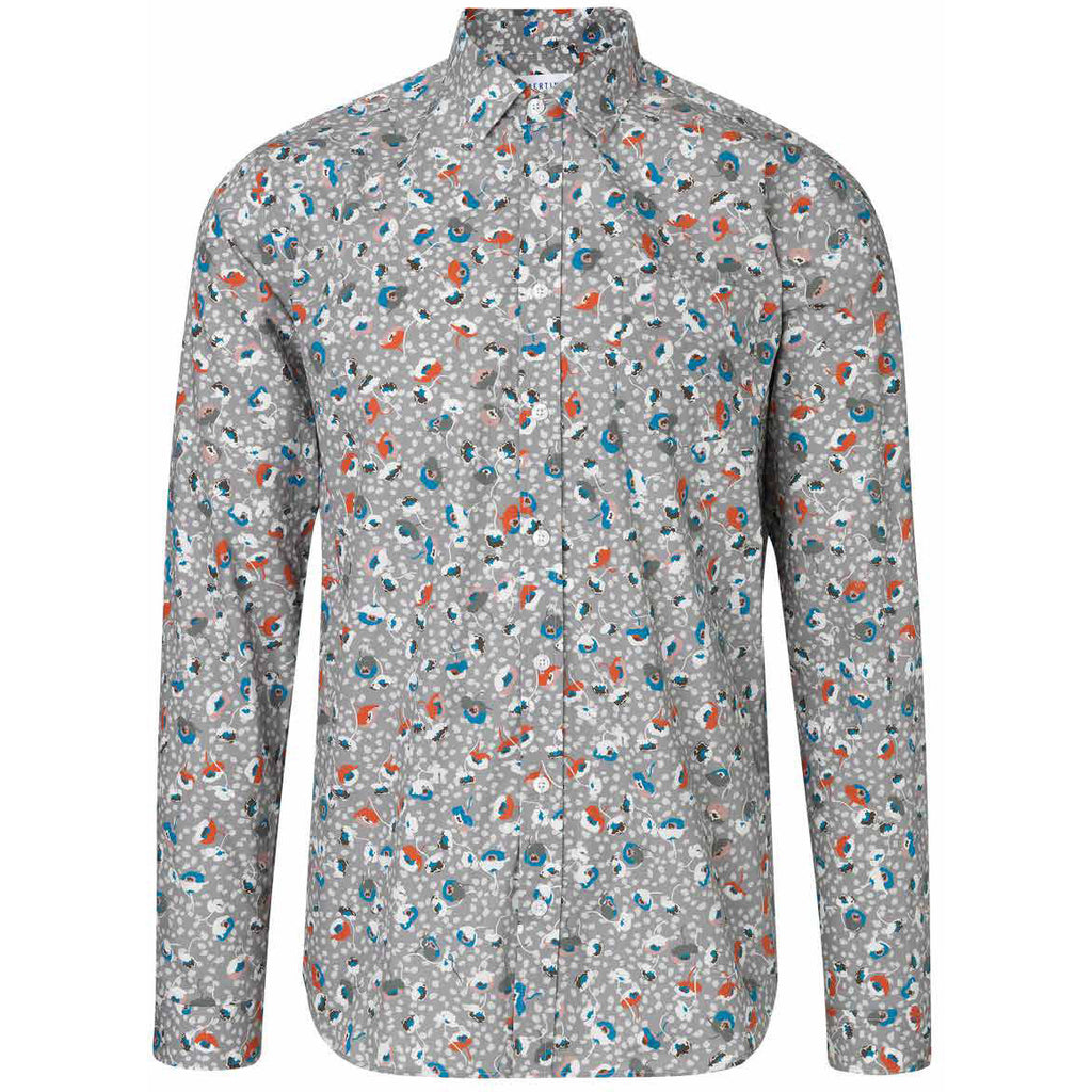 Lynch Light Grey w. Flower Shirt | Libertine Libertine - & BLANC