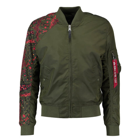 MA-1 TT Tattoo Dark Green | Alpha Industries - & BLANC