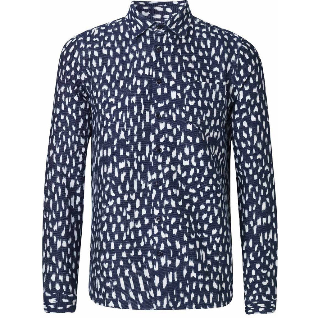 Miracle Dark Navy Shirt | Libertine Libertine - & BLANC