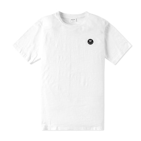 Slater T-shirt White | Wood Wood - &BLANC - 1