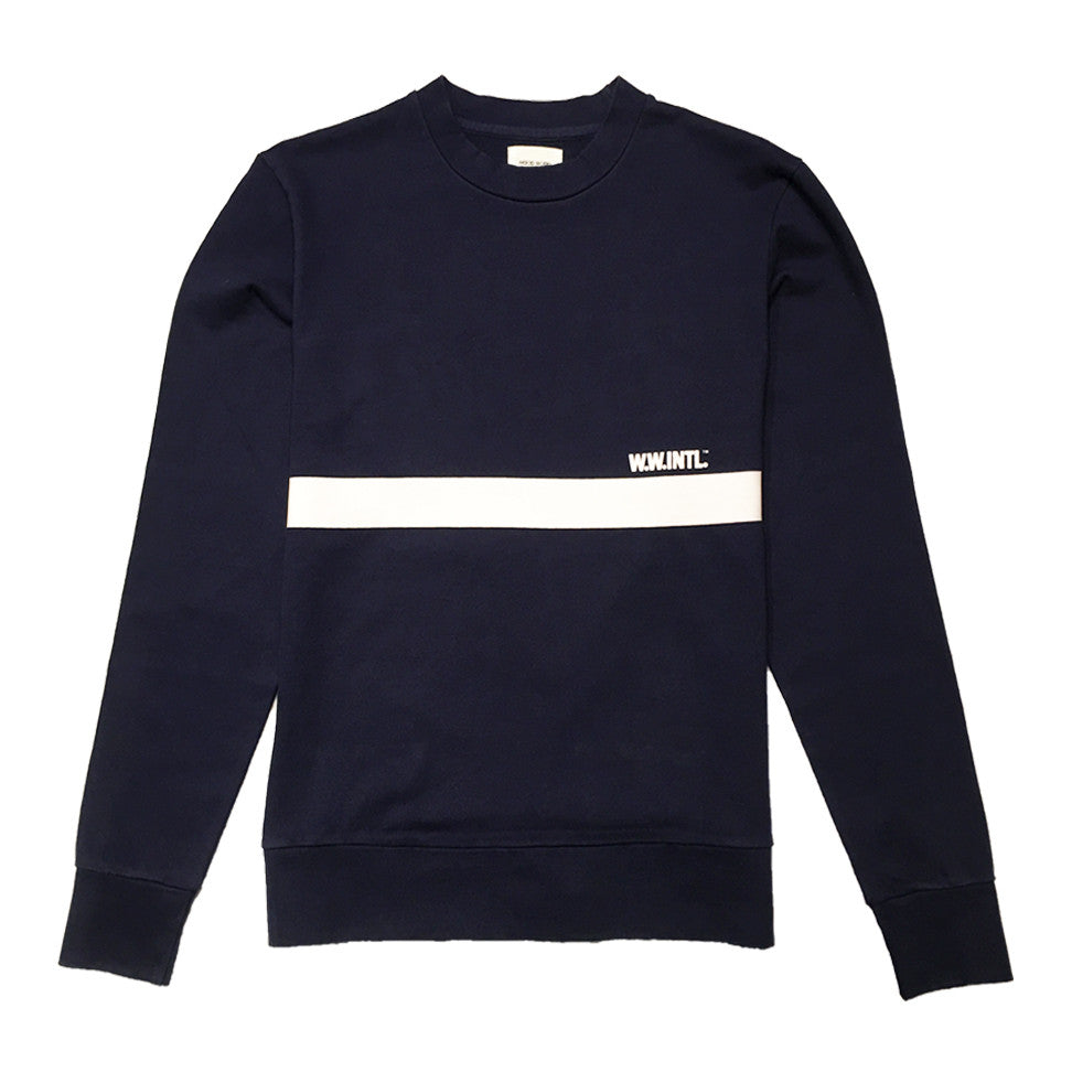 Troy Sweatshirt Blue | Wood Wood - & BLANC