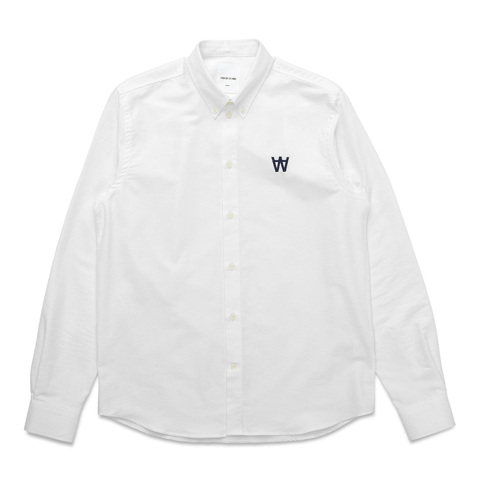 Timothy Logo Shirt | Wood Wood - & BLANC