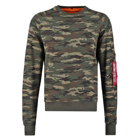 X-Fit Sweatshirt Camo | Alpha Industries - & BLANC