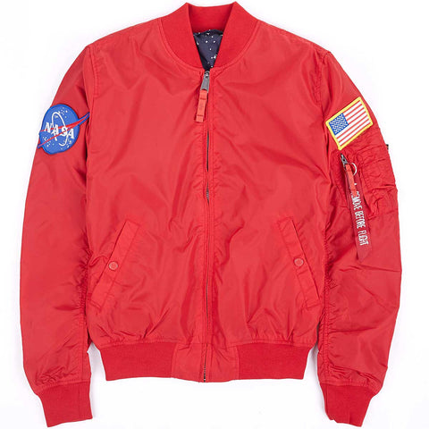 NASA TT Reversible Red | Alpha Industries - &BLANC - 1