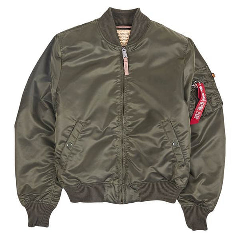 MA-1 VF59 257 Dark Green Jacket | Alpha Industries - & BLANC