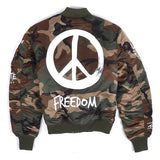 MA-1 VF Freedom Camo Jacket | Alpha Industries - & BLANC