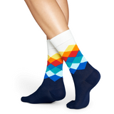 Faded Diamond | Happy Socks - & BLANC