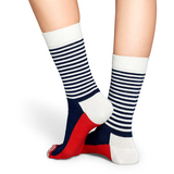 Half Stripe Sock | Happy Socks - & BLANC