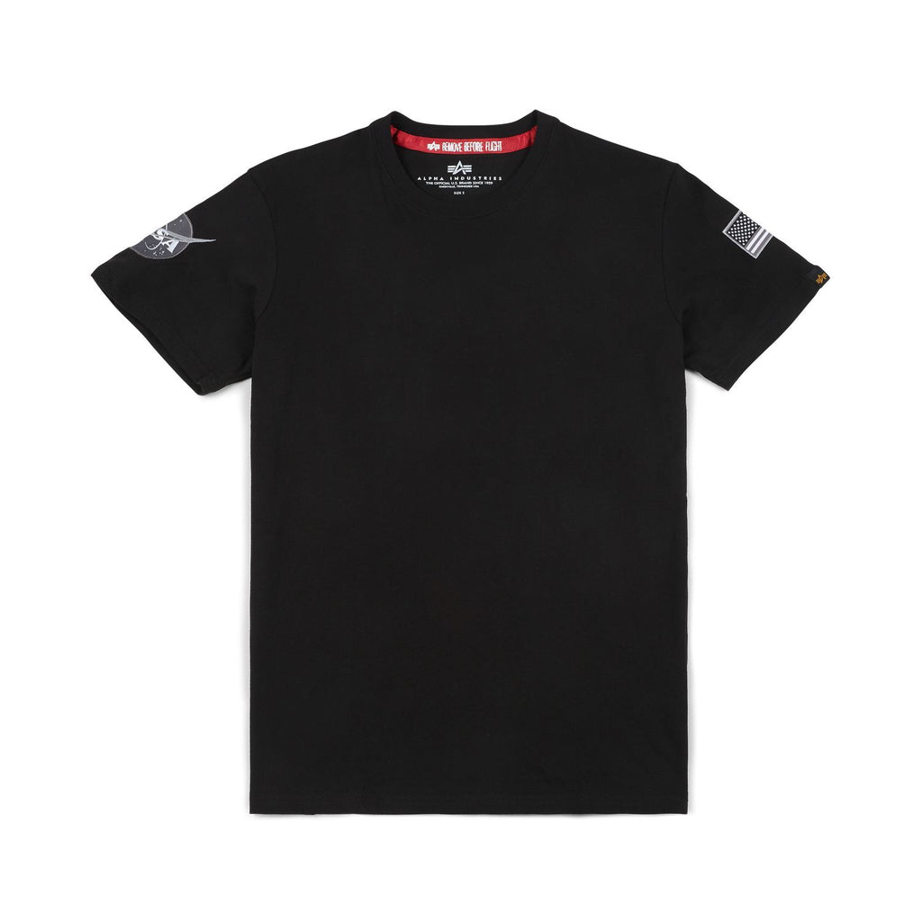 Nasa T-shirt (Black) | Alpha Industries - & BLANC