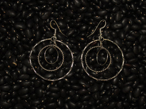 Hoop Mobile Dangle Earrings