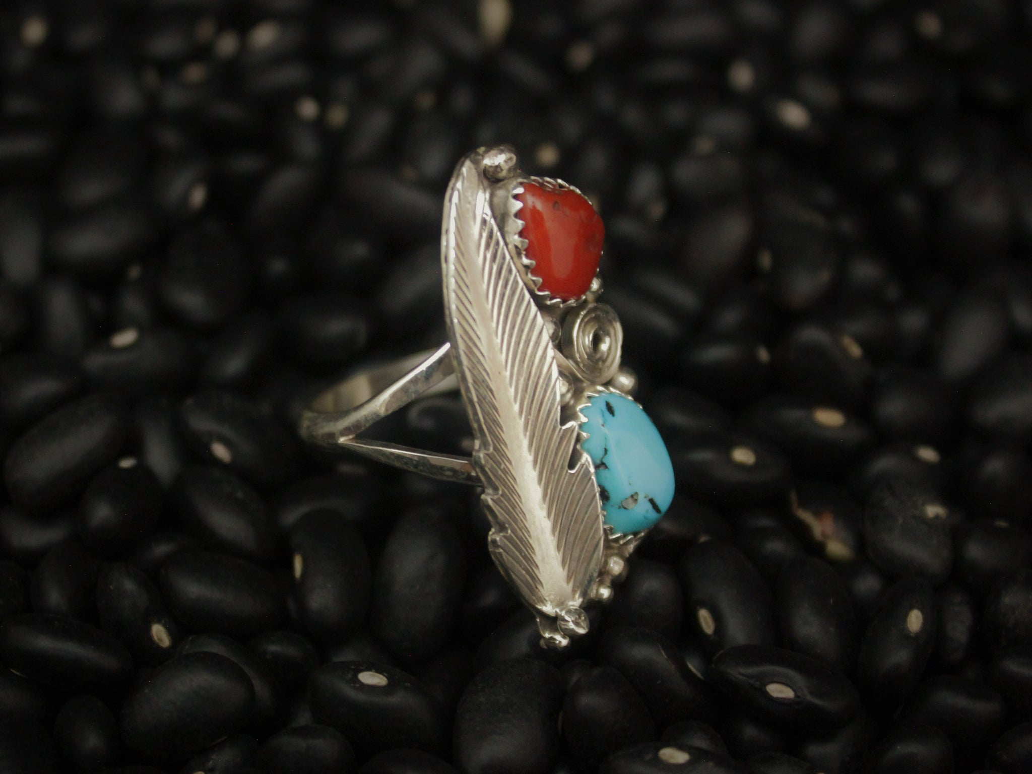 Feather Dazzler Ring