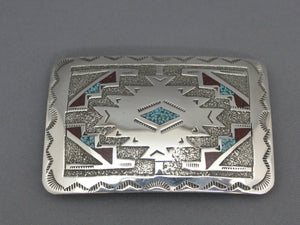 Rug Design Chip Inlay Buckle