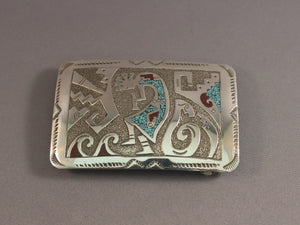Water Bringer Chip Inlay Buckle