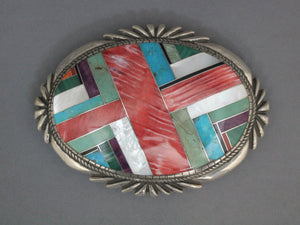 Navajo Inlay Buckle
