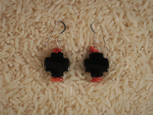 Santo Domingo Style Bead Earrings