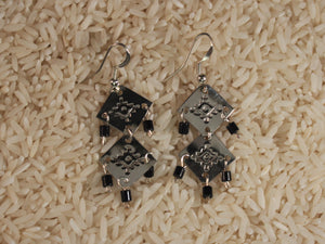 Double Shield Dangles