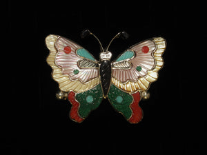 Intricate Butterfly Stunner Pin/Pendant