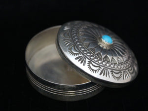 Beautifully Stamped Pill Box