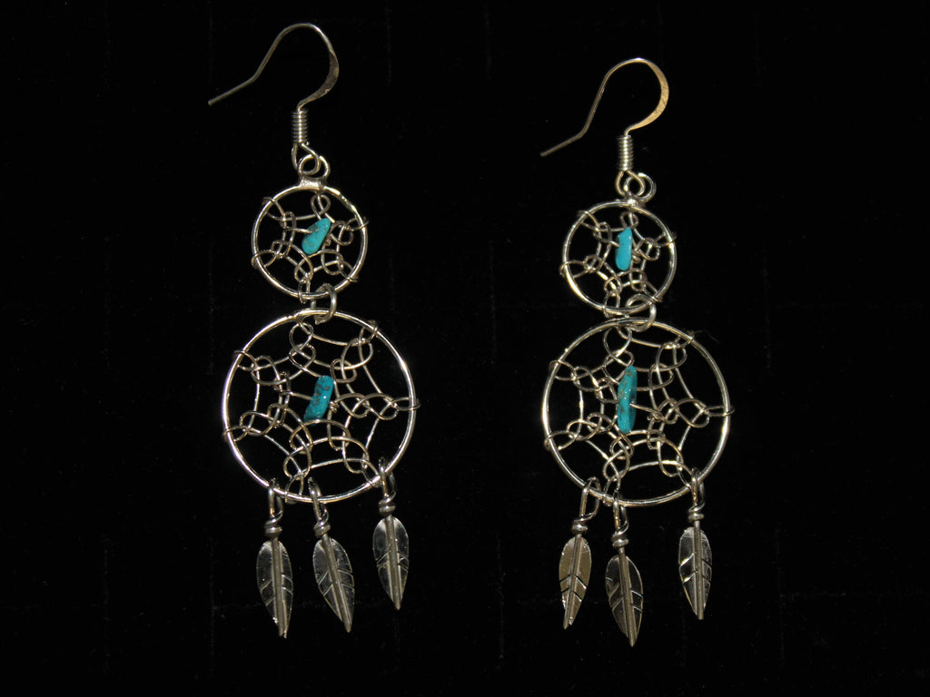 Double Dreamcatcher Earrings