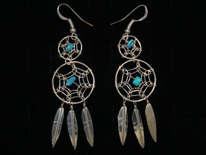 Large Double Dreamcatcher Earrings