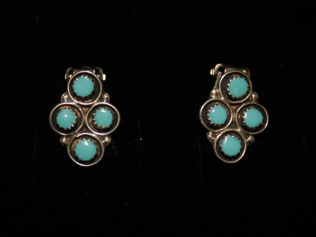 Zuni Shadow Box Clip-Ons