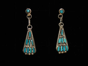 Needlepoint Mini-Chandelier Earrings