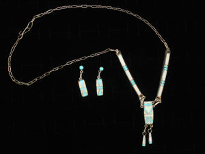 Brilliant Zuni Necklace Set